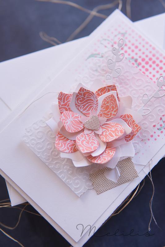 Blüten Karte